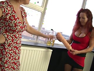 Marvelous Wendy knuckles and tastes her buddy