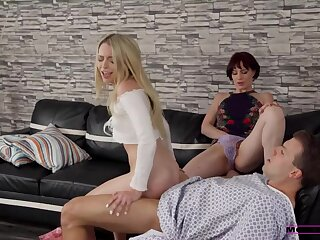 Stepmom added to stepsis fixing my rumbustious cock