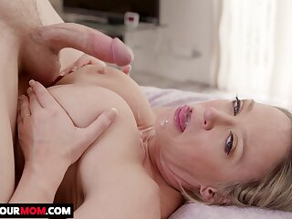 Busty wife Dee Williams enjoys property fucked apart from her husband