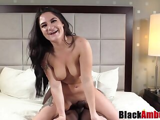 Luscious Cassidy Ambushed By Bbc After Inserting Buttplug