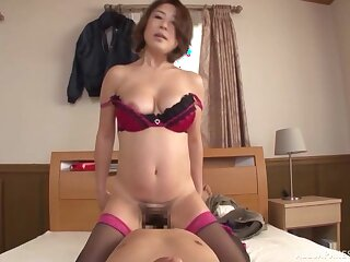 Japanese beauty gets will not hear of dose in superb home hardcore